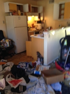 rental property clean out